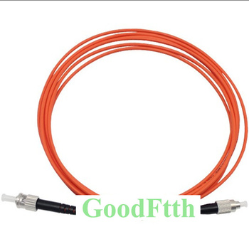 Fiber Patch Cords Jumpers FC-ST ST-FC Multimode OM2 50/125 Simplex GoodFtth 1-15m fc to st multimode fiber patch cord fc st fiber patch cable upc polish mm optical fiber jumper duplex om2 ofnp 3m 5m 10m 15m