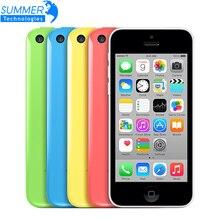Оригинальный Разблокирована Apple iPhone 5C Сотовых Телефонов 16 ГБ 32 ГБ Dual Core WCDMA WiFi GPS 8MP Камера 4.0 «Мобильный Телефон