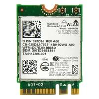 3160ac 2,4 GHz und 5,0 GHz 433 Mbps Mini M2 NGFF PCI-E WiFi Adapter mit Bluetooth BT 4,0 für Intel 3160NGW Für ASUS/DELL/ACER