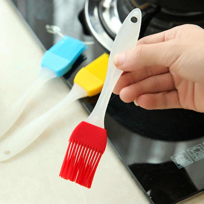 סיליקון לחם צולה מברשת מנגל אפיית DIY מטבח בישול כלים קסם ניקוי מברשות קל נקי לשטוף מברשות