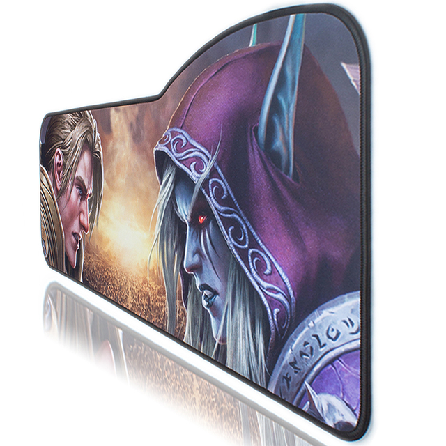 WOW Gaming Mouse Pad Skid-proof & Stitched edges Large keyboard Mice Desk Mat for Office Work PC gaming World of Warcraft 8.0 4