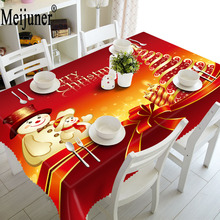 simanfei modern decorative table cloth rectangle tablecloth home kitchen square printing party banquet dining table cover Meijuner 3D Rectangle Digital Printing Tablecloth Polyester Home Decorations Nghtstand table cloth  Hot Christmas table cover