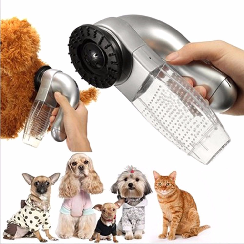 Alert Electric Pet Cat Dog Pet Hair Fur Remover Shedd Grooming Brush Comb Vacuum Cleaner Trimmer Machine Pets Beauty Accessories Abs In Many Styles Home