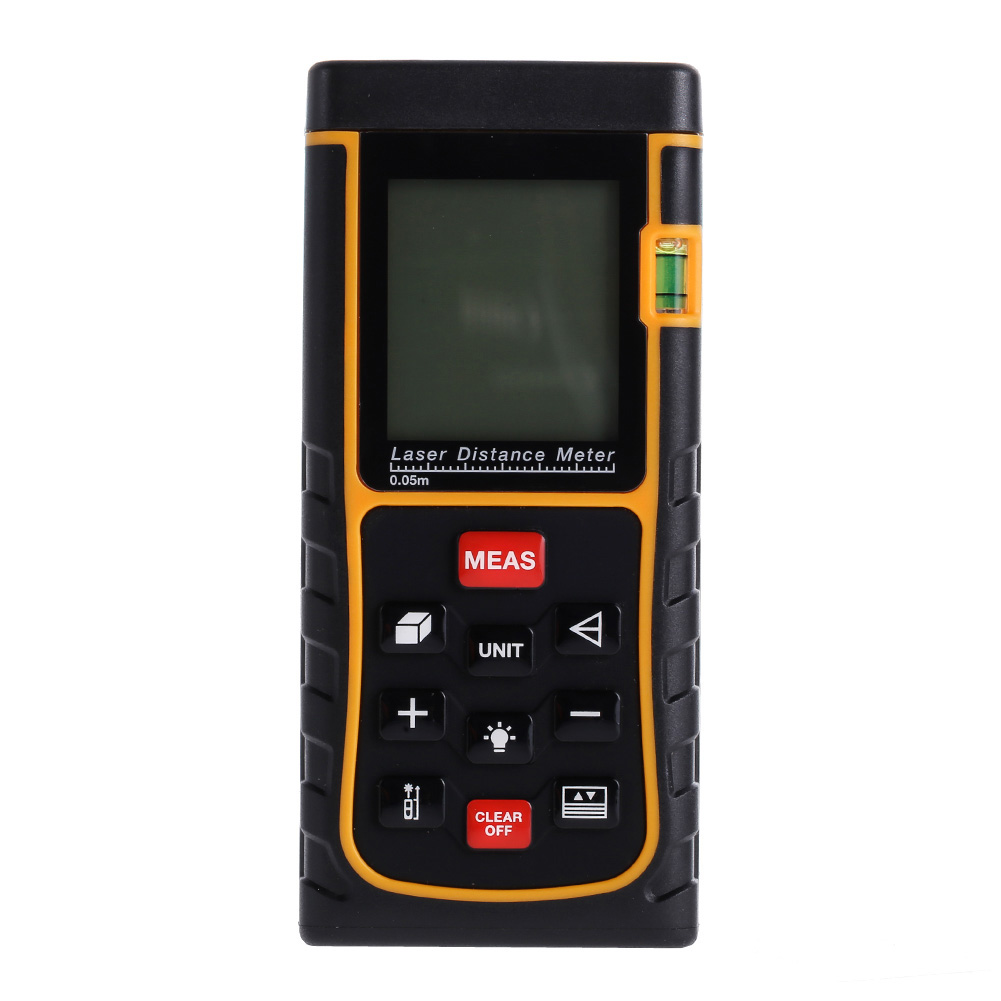 80M Handheld Large LCD with Backlight Digital Laser Distance Meter Range Finder Measure Diastimeter Rangefinders Easy Operation