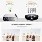 T5 светодиодный проектор 3D Android 4,4 HD (1G + 8G) с wifi Bluetooth мини светодиодный проектор hdmi USB мини проектор домашний медиаплеер - 5
