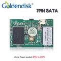 Бесплатная доставка Серийный GD Goldendisk 7PIN SATA DOM 32 ГБ 2 Locataion отверстия Диска на Модуль 2 ГБ до 64 ГБ NAND MLC Промышленных Встроенных