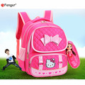 Hello Kitty Children School Bags For Girls Kids School bag Cartoon lovely children backpacks kids mochila esc 4 colors X572