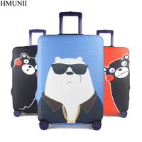 HMUNII Elastic Luggage Protective Cover Girl S Travel Trolley Suitcase Dust Cover Bag Case Accessories Supplies