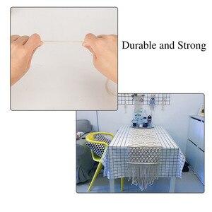 Image 4 - Cordon torsadé en coton blanc de 3mm x 200m, cordelette pour macramé artisanal fait à la main, fournitures de décoration de maison #10