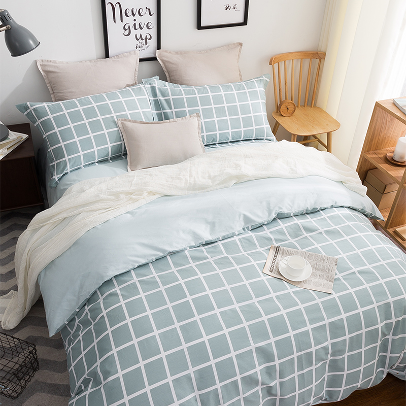 ФОТО Papa&Mima Bedding sets 6pcs duvet doona quilt fitted cover ned sheet 100% cotton 220cmx240cm Free Shipping