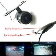 Leemsp CCD Автомобильная камера заднего вида, запасная фронтальная камера заднего вида с боковым зеркалом заднего вида или без него, HD цветное изображение, конвертация линии
