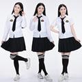 2016 New arrive Japanese&Korean Anime School Uniform cosplay Top Quality Elegant Girls Plus size School uniforms set for girls