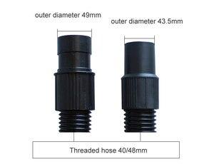 Image 2 - Соединитель для шланга промышленного пылесоса, длина 2,4 м, для хост интерфейса 50 мм, запчасти для пылесоса