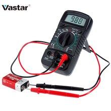 Vastar Ручной ЖК-цифровой мультиметр 1999 XL830L AC/DC Напряжение Amp тестер сопротивления тока Синяя подсветка метр