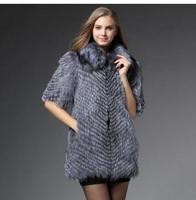 Новые женские талии Пальто для будущих мам ручной работы лиса Мех животных жилет Пальто для будущих мам Длинные Повседневная Женская обувь