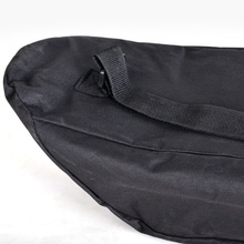 Waterproof Cover Oxford Cloth Black Wear Resistant Longboard Travel Solid Accessories Unisex Adjustable Backpack Skateboard Bag