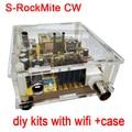S-Roca Mite CW telegraph transceptor de radio de onda corta 7.023 M Con Wifi + caja de los kits