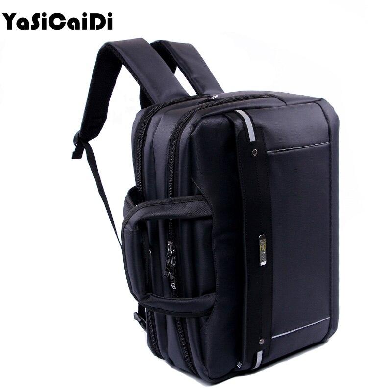 YASICAIDI High Grade Polyester Men Briefcases Light Business Messenger Bag Men Office Handbag Men Totes Casual Men Laptop Bags