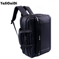 YASICAIDI High Grade Polyester Men Briefcases Light Business Messenger Bag Men Office Handbag Men Totes Casual Men Laptop Bags