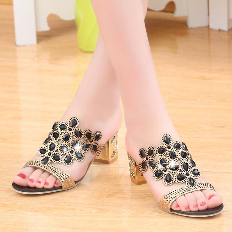 new 2017 fashion women big rhinestone cut outs high heel party sandals - free shipping! New Fashion Women Big Rhinestone Cut Outs High Heel Party Sandals – Free Shipping! HTB1uLKpRVXXXXX8XVXXq6xXFXXXf