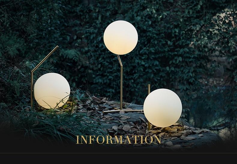 Modern LED Table Lamp Desk Lamp Light Shade Glass Ball Table Lamp Desk Light for Bedroom Living Room Floor Conner Gold Designs (17)