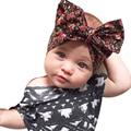 Floppy algodón arco de la venda Floral principales del bebé envuelve niña sucias arco turbante Headwraps accesorios para el cabello HYS114