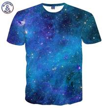 Mr.1991INC Space Galaxy T-shirt Men/Women 3d T-shirt Print Stars Sky Tshirts Fashion Brand T shirt Summer Tops Tees Plus 3XL 4XL(China)