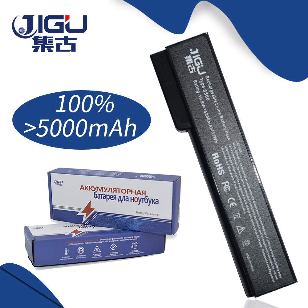 JIGU 5200MAH Laptop Battery For HP 8460 8560p 8570p CC06XL 628369-421 628664-001 For EliteBook 8460p 8460w 8470p 8470w ssea us keyboard new for hp elitebook 8410p 8460p 8460w 8470p 8470w probook 6460b 6465b 6470b 6475b without frame