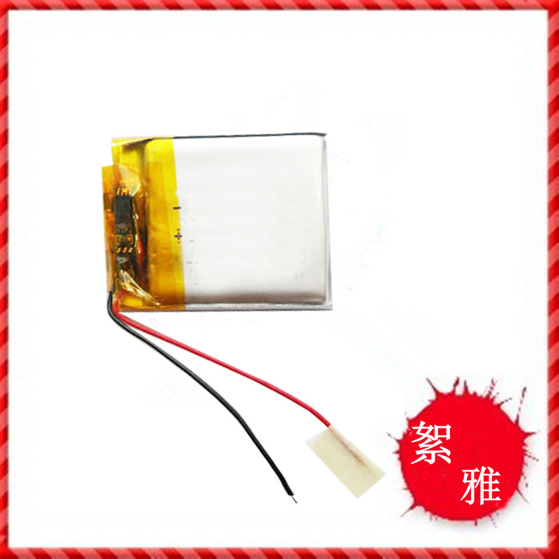 <font><b>3.7v</b></font> li po li-ion batteries lithium polymer battery 3 7 v lipo li ion rechargeable lithium-ion for 043035 <font><b>403035</b></font> MP3/4 Bluetooth image