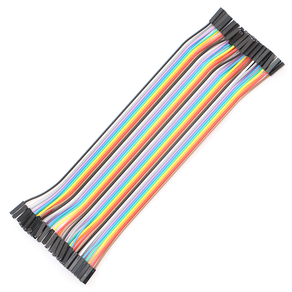 6Breadboard tie line jumper cable + 4Dupont wire 20cm cable Line 1P-1P Female to Female Wire  - buy with discount