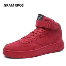 GRAM EPOS New Male Spring Autumn Hip Hop High Quality man Lace up  High Tops Men Walking Shoes Breathable Winter fashion Botas