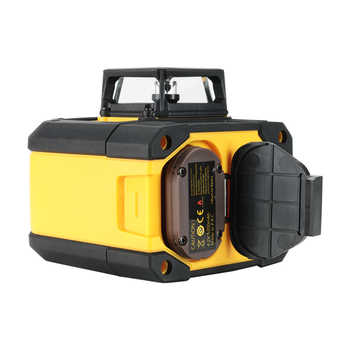 SNDWAY Rotary Laser Level 3D 12 Lines 360 Green Red Beam Self-Leveling Horizon Vertical Cross laser line measuring instruments