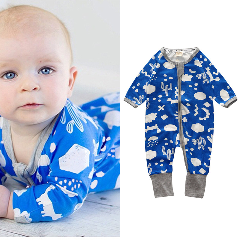 2018 baby clothes Full Sleeve cotton infantis baby clothing romper cartoon costume ropa bebe 0-24 M newborn boy girl clothes