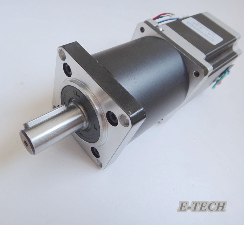 NEMA 23 Planetary Geared Stepper Motor rated load 6N.m Motor Body 56mm Gear Ratio 5:1 10:1 57mm planetary gearbox geared stepper motor ratio 10 1 nema23 l 56mm 3a