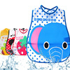 ideacherry Cartoon Baby Bibs Waterproof Newborn Bandanas Feeding Baby Burp Cloths for Girls Boy Saliva Towel Printing Bibs Apron