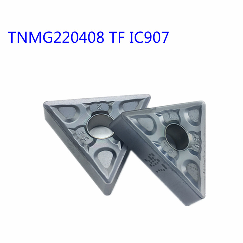 TNMG220408 TF IC907/ IC908 External Turning Tools Tnmg 220408 Carbide Inserts Lathe Cutter Cutting Tool CNC Tools