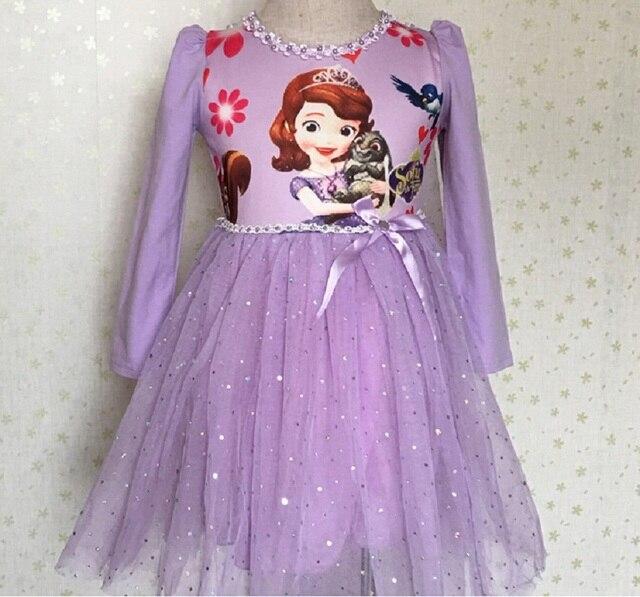 0e384e6e4b Sukienka Anna Elsa Sofia Disfraz Gorączka Elza Kostium Vestido Infantil  Disfraces Jurk Rapunzel Dzieci Sukienka Dziewczyny