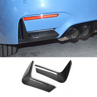 M3 M4 Carbon Fiber Rear Bumper Diffuser Side Lip Splitter Apron back Cupwing for BMW F80 M3 F82 F83 M4 Carnard Only 2012   2017 Mirror & Covers    -