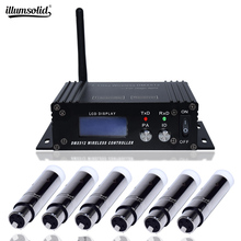 Mini 2.4G Wireless Dmx 512 Controller Console LCD Transmitter Receiver For Dj Disco Stage Professional Lighting Equipment