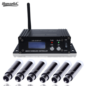 Image 1 - Mini 2.4G Wireless Dmx 512 Controller Console LCD Transmitter Receiver For Dj Disco Stage Professional Lighting Equipment