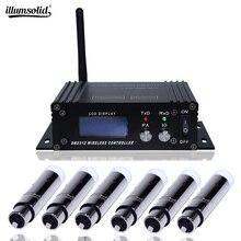Mini 2.4G Wireless Dmx 512 Controller Console LCD Trasmettitore Ricevitore Per Dj Della Discoteca Della Fase Apparecchi di Illuminazione Professionale