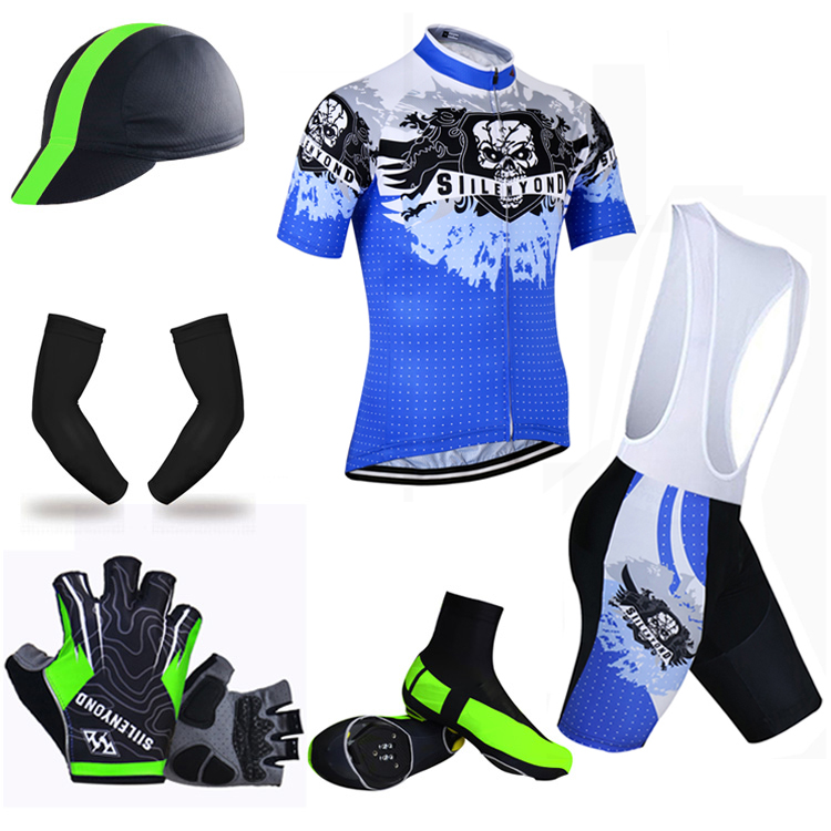ФОТО Siilenyond Summer Big Cycling Set ! 2017 Breathable Pro Summer MTB Bike Clothes Bicycle Jerseys Clothing Ropa Maillot Ciclismo