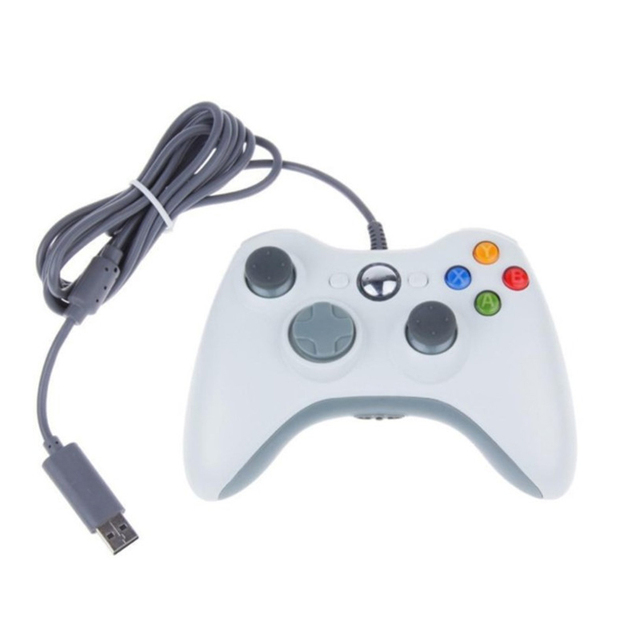 New USB Wired Gamepad for Xbox 360 Controller Gaming Double vibration Joystick for PC Computer Controller For Windows 7 8 10