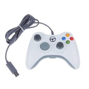 Image 3 - ใหม่ USB Wired Gamepad สำหรับ Xbox 360 ตัวควบคุมเกมการสั่นสะเทือนคู่จอยสติ๊กสำหรับ PC คอมพิวเตอร์ Controller สำหรับ Windows 7 8 10