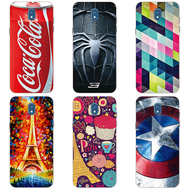brand new 8c7b8 1fbcd US $3.2 |Soft TPU phone shell case plastic hard cover For samsung galaxy  j7pro phone shell with color originality Painted Cover-in Fitted Cases from  ...
