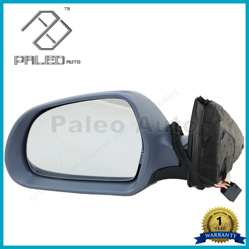For Skoda Superb 2008 2009 2010 2011 2012 2013 2014 2015 New Left Side Electrically Adjustable And Heated Mirror car rear trunk security shield shade cargo cover for nissan qashqai 2008 2009 2010 2011 2012 2013 black beige