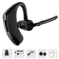 Handsfree Business Bluetooth Headset With Mic Sweatproof Voice Control Headphone For Sports Driving Noise Cancelling Earphone