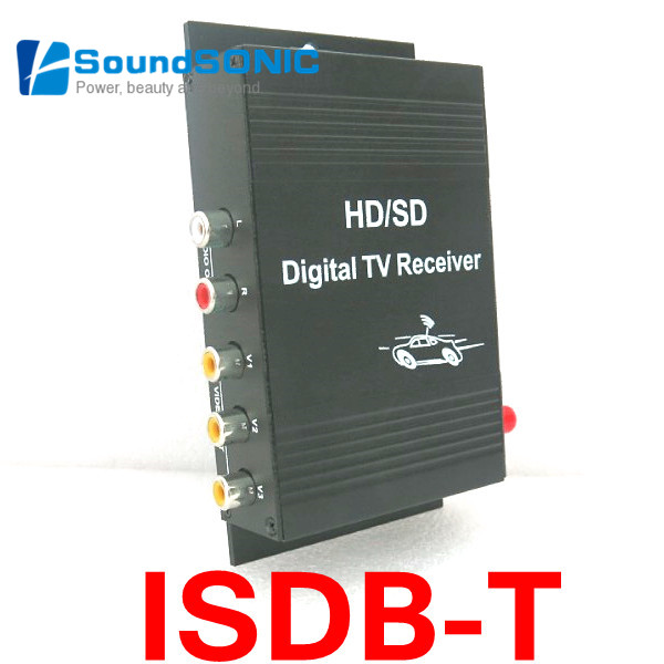Mobile Car Isdb-t Isdbt Isdb T Digital Tv Receiver Box One Seg With Remote Control For Brazil Peru Argentina Chile South America Excellent Quality