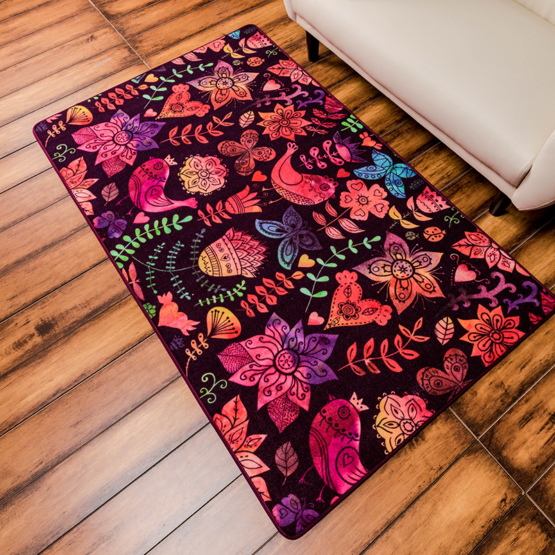 140*200cm Modern Colorful Rugs And Carpets Big Area Rug For Living Room  Home Mats