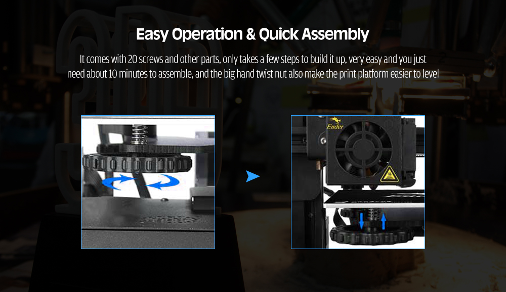 Detail Feedback Questions about Crealily 3D Ender 3/Ender 3X